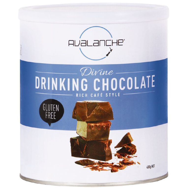 Avalanche Divine Drinking Chocolate 400gm, , hi-res