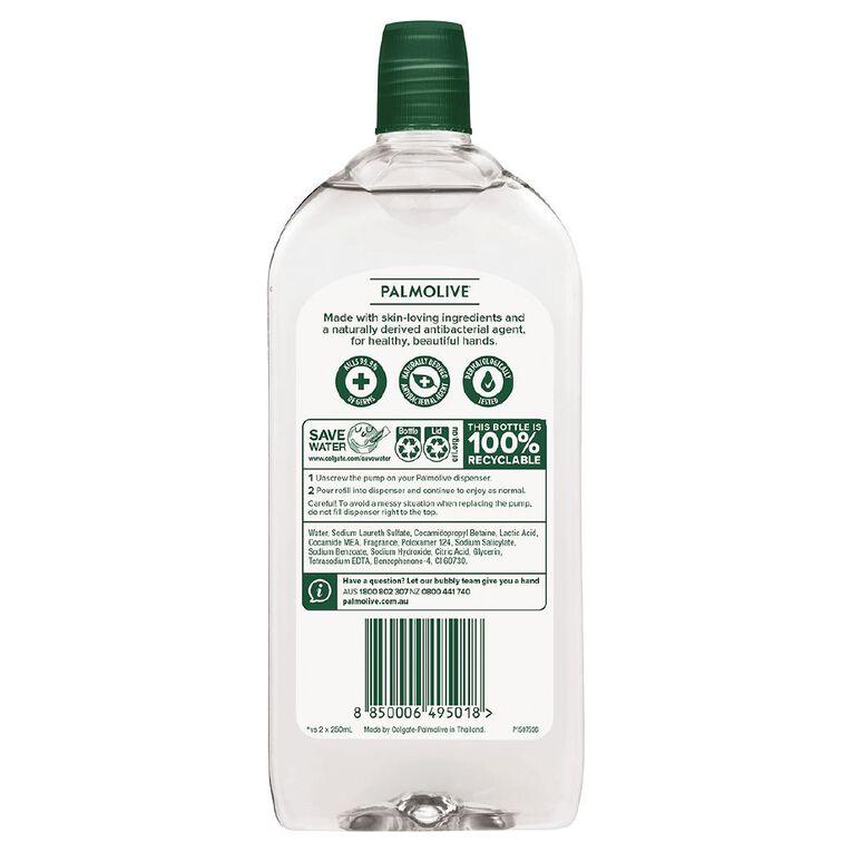 Palmolive Antibacterial Foam Hand Wash Mint & Eucalyptus Refill 500ml, , hi-res