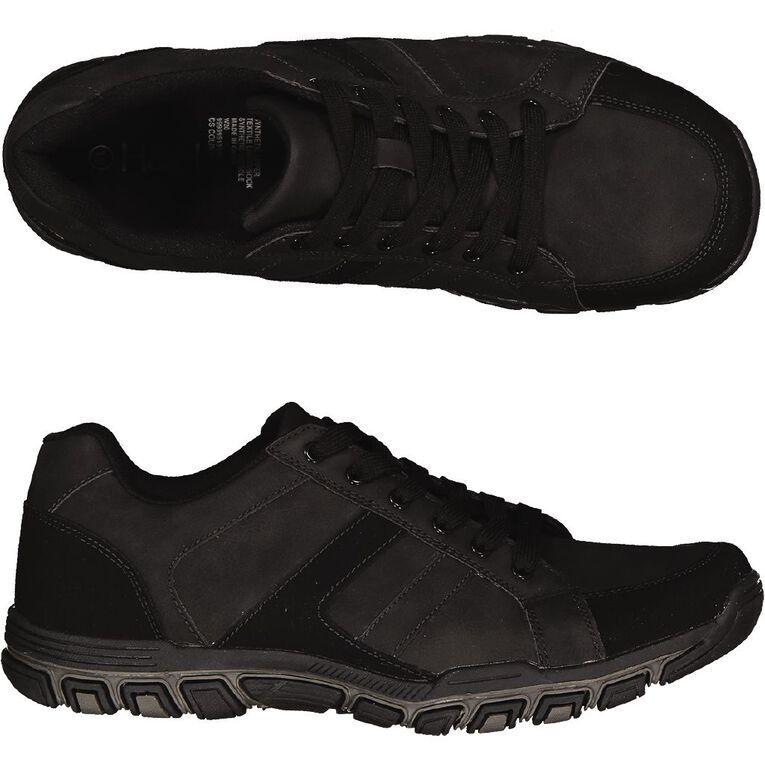H&H Colin Casual Shoes, Black, hi-res