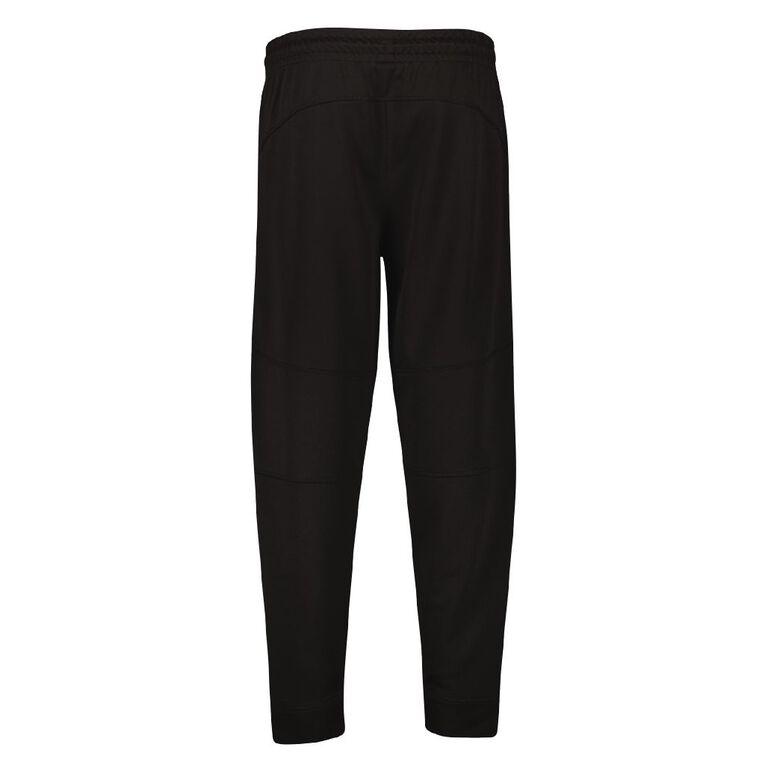 Active Intent Men's Cooldry Panel Pants, Black, hi-res