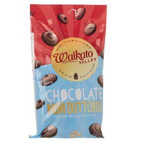 Waikato Valley Chocolates Milk Chocolate Mini Buttons 200g