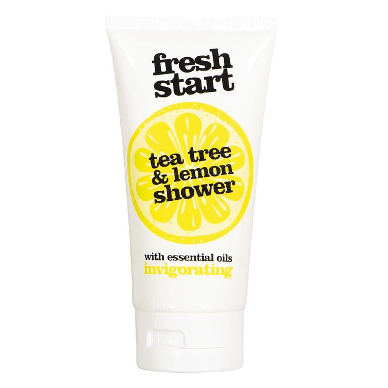 Fresh Start Shower Gel Tea Tree & Lemon 150ml, , hi-res