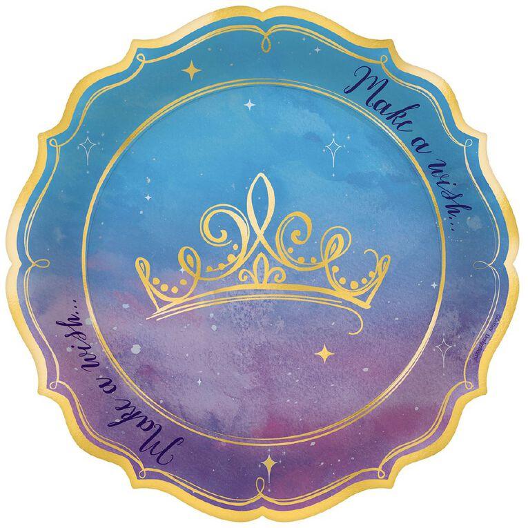 Disney Princess Once Upon A Time Plates 17.7cm 8 Pack, , hi-res