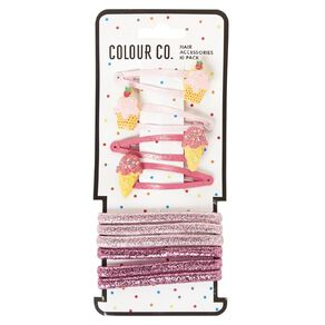 Colour Co. Hair Accessories Set Icecream 10 Pack