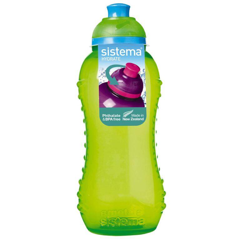Sistema Round Drink Bottle with Twist Cap Assorted 330ml, , hi-res