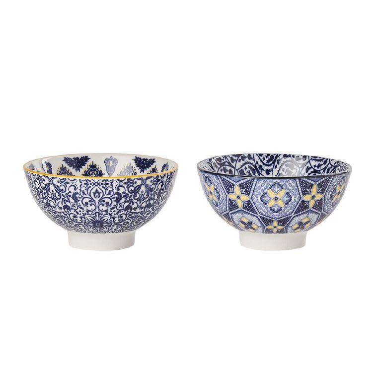 Living & Co Global Moroccan Mini Bowls Multi-Coloured 2 Pack, , hi-res