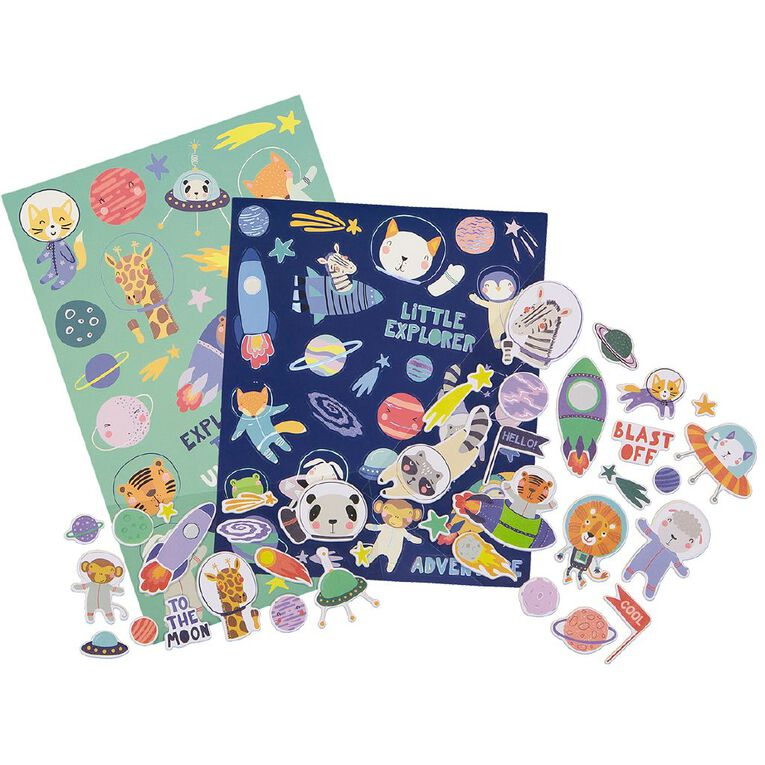 Kookie Sticker Deluxe Pack 5 Sheets To The Moon, , hi-res