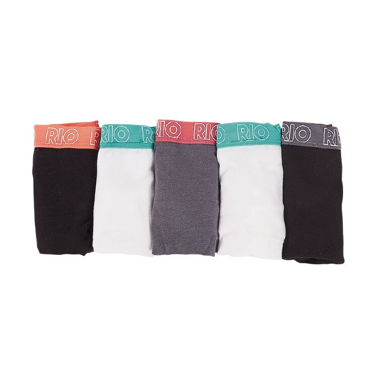 Rio Women's Shortie 5 Pack, White, hi-res image number null