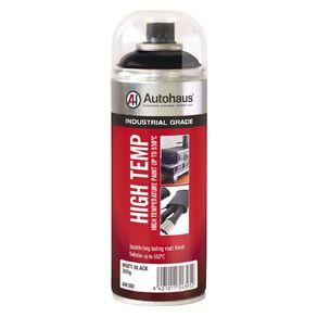Autohaus High Temperature Aerosol Paint Matt Black 250g