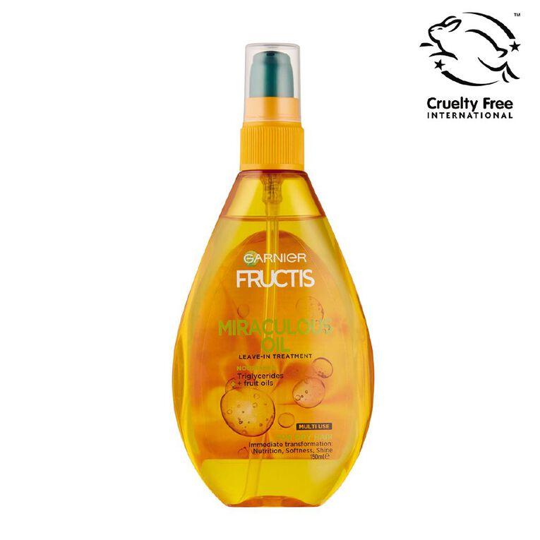Garnier Fructis Miraculous Oil 150ml, , hi-res