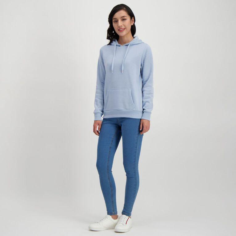 H&H Women's Plain Hoodie, Blue Light, hi-res