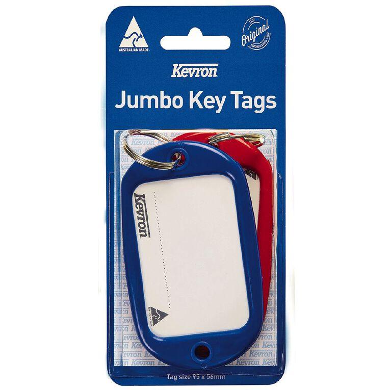Kevron Jumbo Key Tags Assortment 2 Pack, , hi-res
