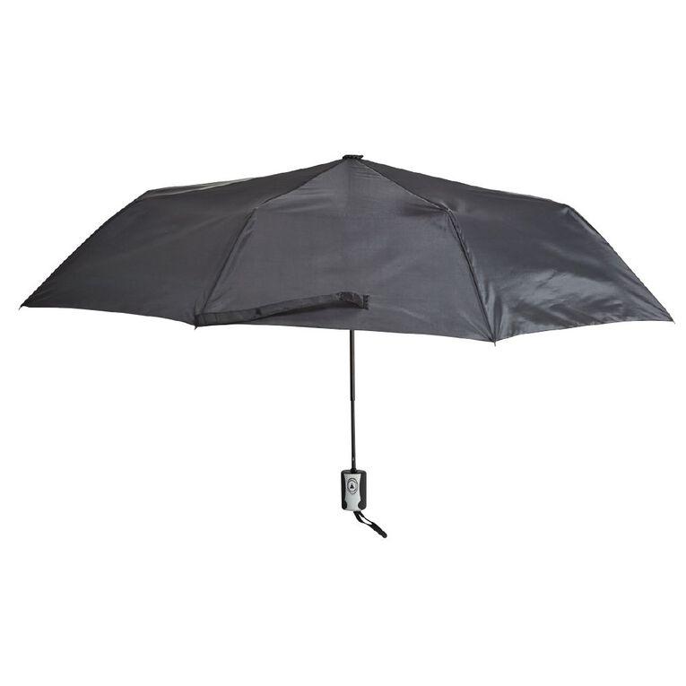 H&H Women's Mini Fashion Umbrella, Black BLACK, hi-res