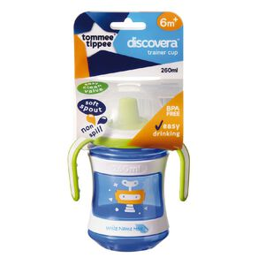 Tommee Tippee Discovera Trainer Cup 6 Months + 260ml Assorted