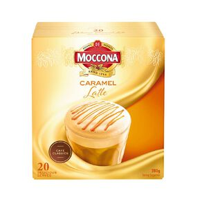 Moccona Cafe Classics Caramel Latte 20s