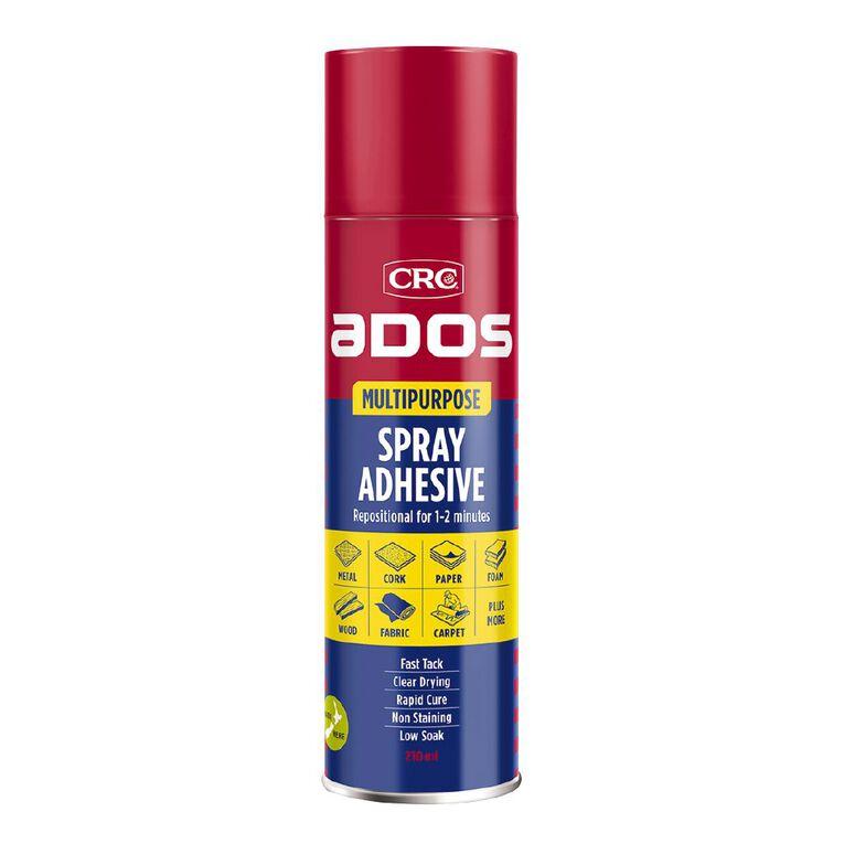 Ados Multipurpose Spray Adhesive 210ml, , hi-res