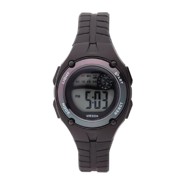 Little Tix Kids' Digital Watch Iridescent Black, , hi-res