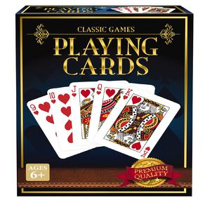 Classics Collection 1 Deck Playing Cards Game Assorted