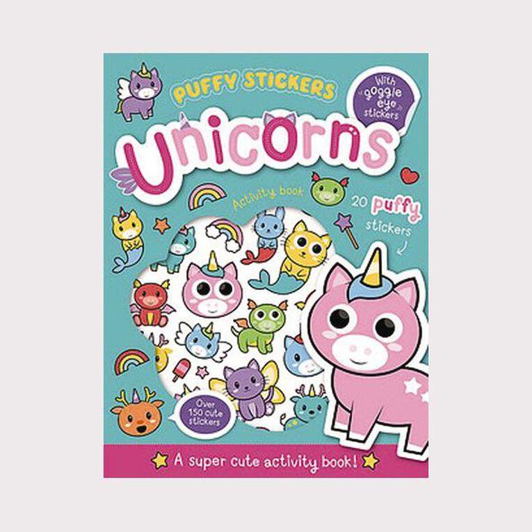 Wobbly-Eye Puffy Sticker Activity: Unicorns, , hi-res