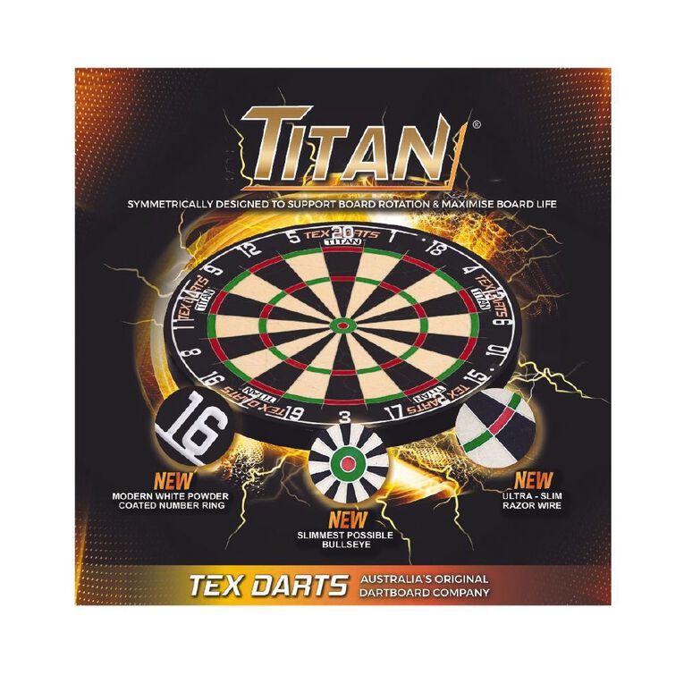Tex Titan Dartboard, , hi-res