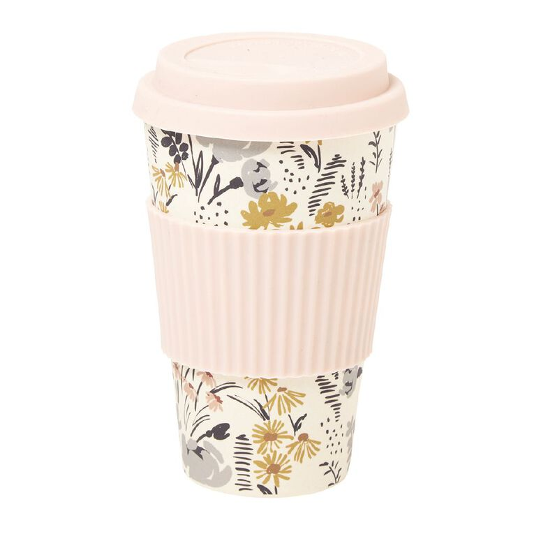 Living & Co Bamboo Travel Cup Kew Spring 500ml, , hi-res image number null