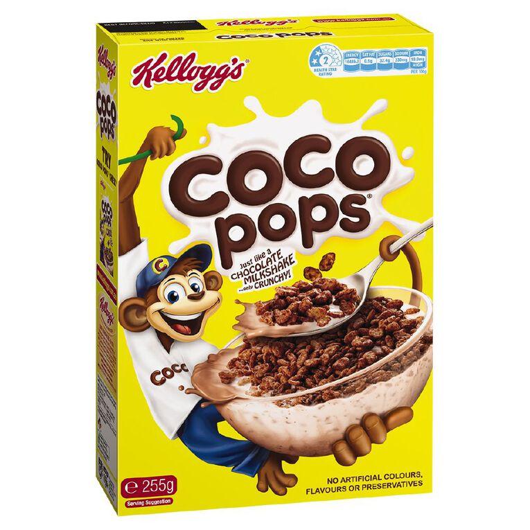 Kelloggs Coco Pops Cereal 255g, , hi-res