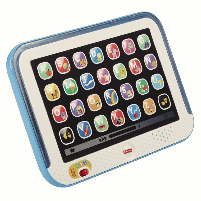 Fisher-Price Laugh & Learn Smart Tablet Coloured Assorted, , hi-res