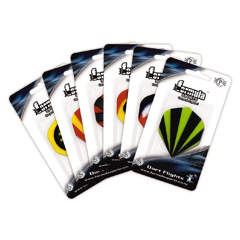 Formula Sports Polyester Emblem Flights Assorted, , hi-res