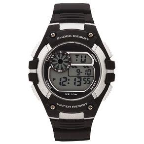 Active Intent Men's Sports Digital Watch Black/Grey