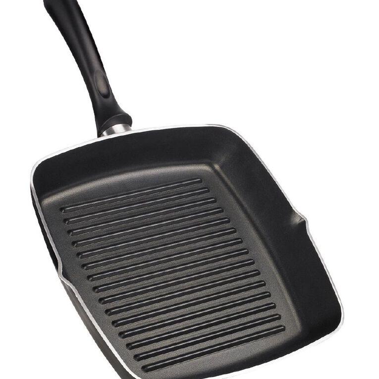 Arcosteel Supremo Grillpan Black 28cm, , hi-res