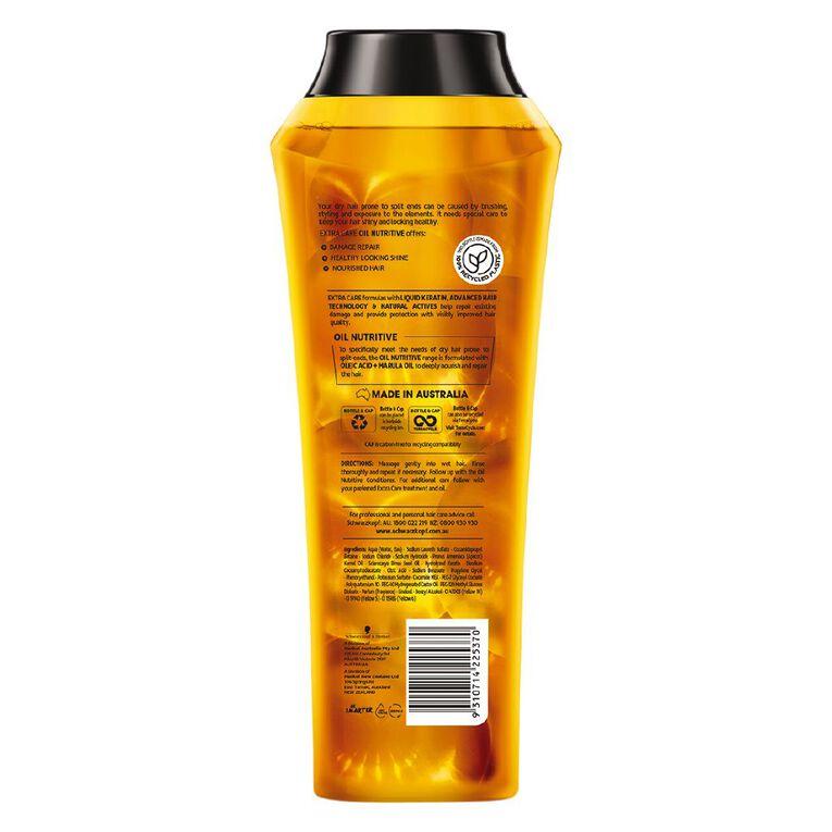 Schwarzkopf Extra Care Oil Nutritive Shampoo 400ml, , hi-res