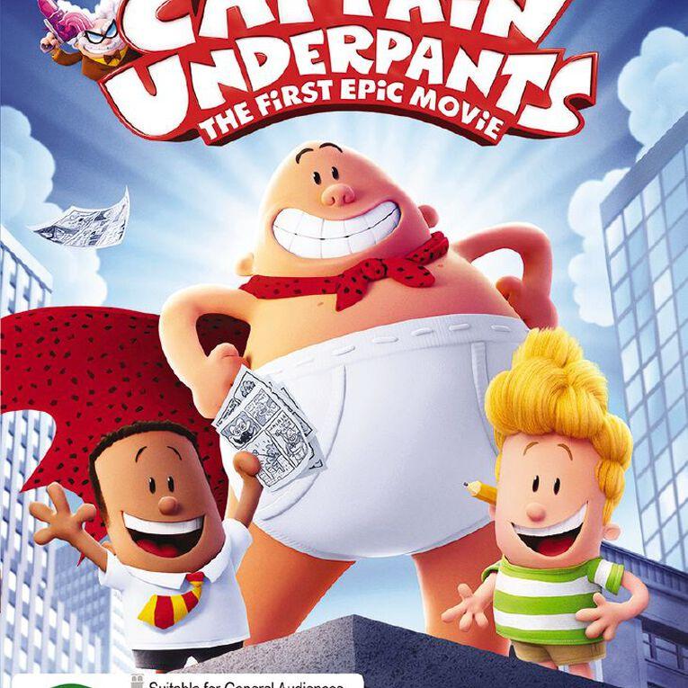Captain Underpants DVD 1Disc, , hi-res