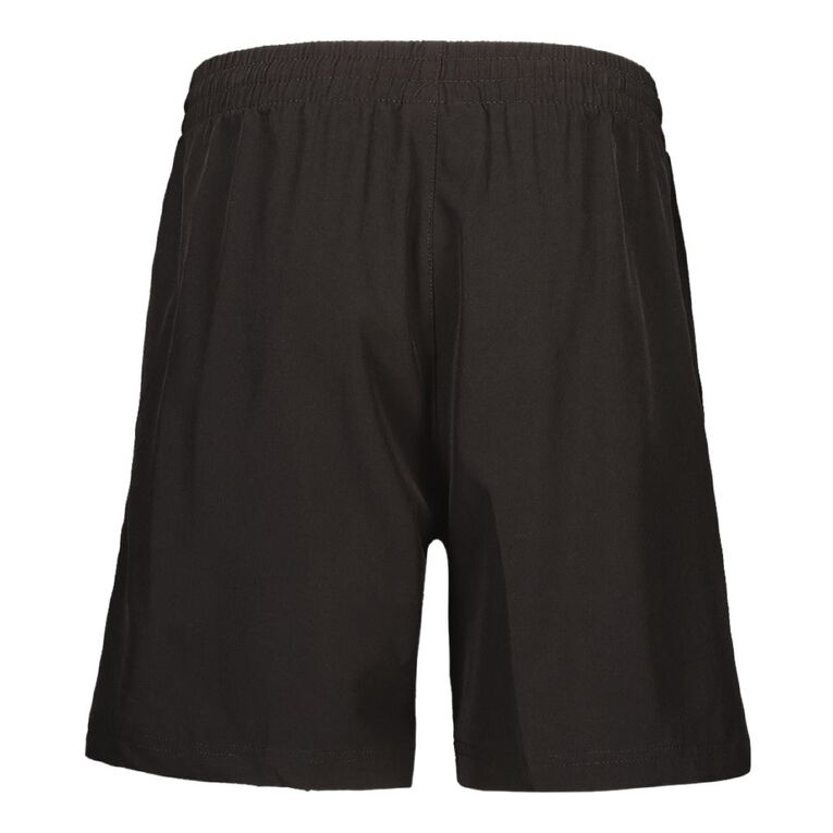 Schooltex Whangarei Girls' High School New PE Shorts with Embroidery, Black, hi-res