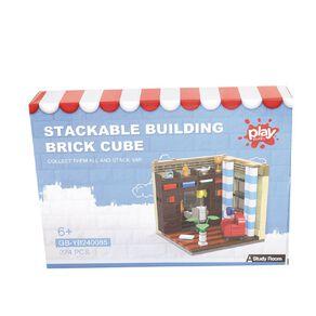 Play Studio Stackable Building Brick Cube