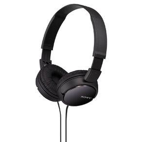 Sony Headphones MDRZX110B Black