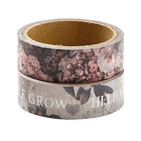 Uniti Floral Nights Washi Tape 2 Pack Inspire