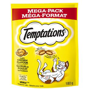 Temptations Cat Treats Tasty Chicken Mega Pack 180g Bag