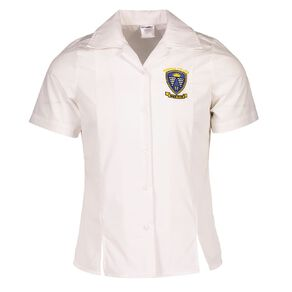 Schooltex Porirua College Short Sleeve Blouse