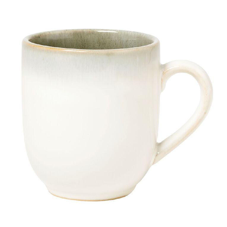 Living & Co Kina Glazed Mug Green, , hi-res