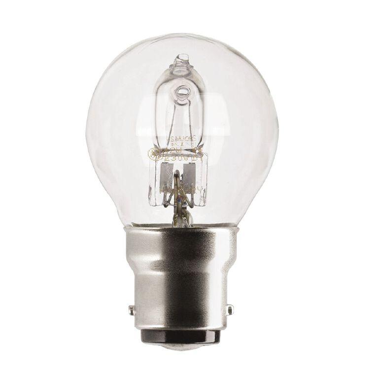 General Electric Halogen Lustre Bulb B22 30w Clear, , hi-res