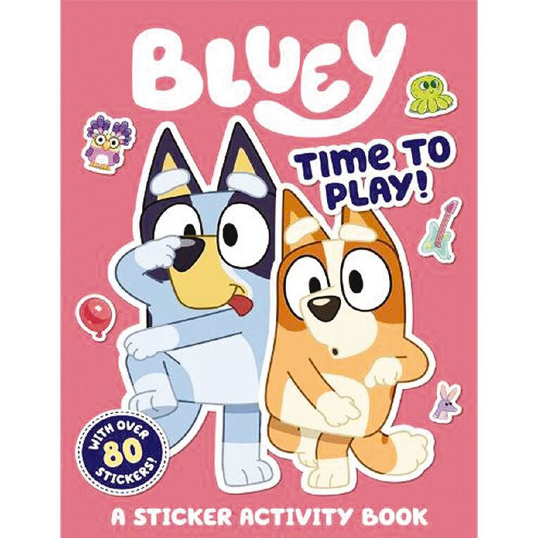 Bluey: Time to Play! Sticker Activity Book, , hi-res