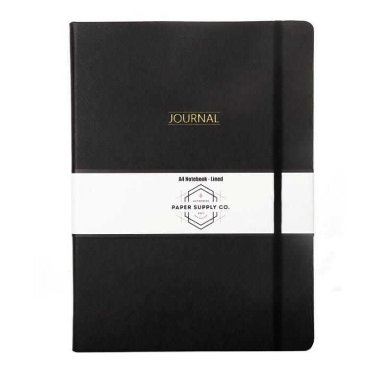 Paper Co Citta Journal Black A4, , hi-res