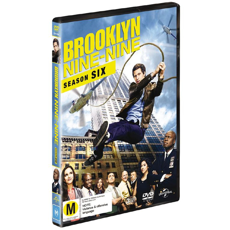 Brooklyn Nine-Nine Season 6 DVD 3Disc, , hi-res