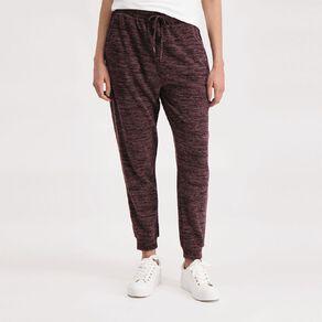 H&H Women's Brushed Knit Harem Pants