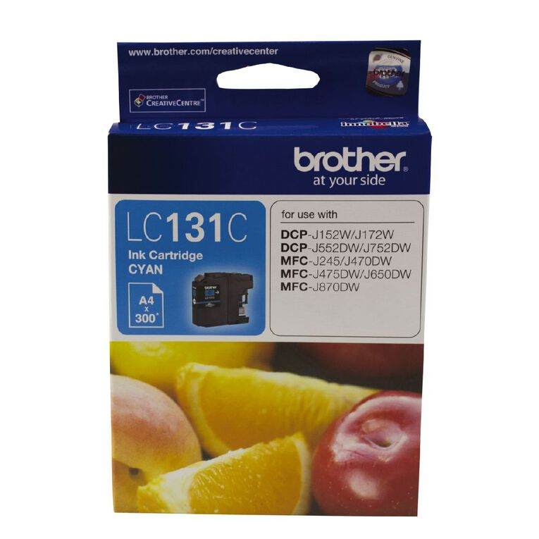 Brother Ink LC131 Cyan (300 Pages), , hi-res