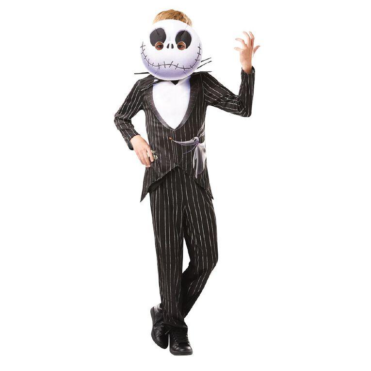 Nightmare Before Christmas Disney Jack Skellington Costume 6-8 Years, , hi-res