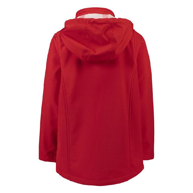 Schooltex Stanhope Road School Softshell Jacket with Embroidery, Red, hi-res