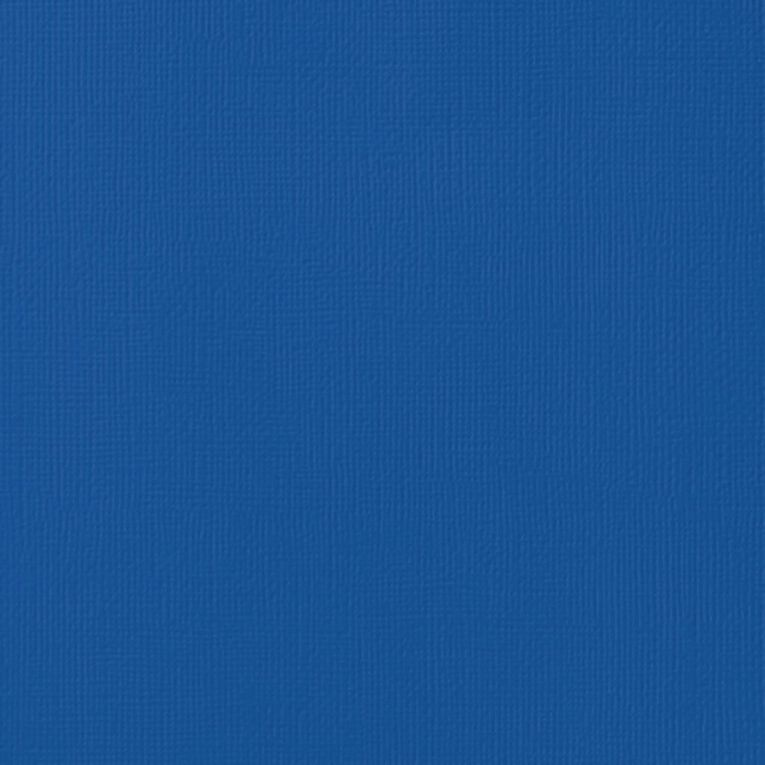 American Crafts Cardstock Textured Marine Blue 12in x 12in, , hi-res