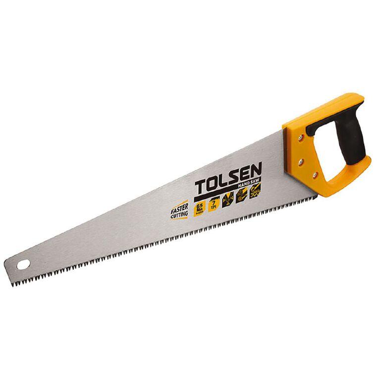 Tolsen Handsaw 550mm, , hi-res