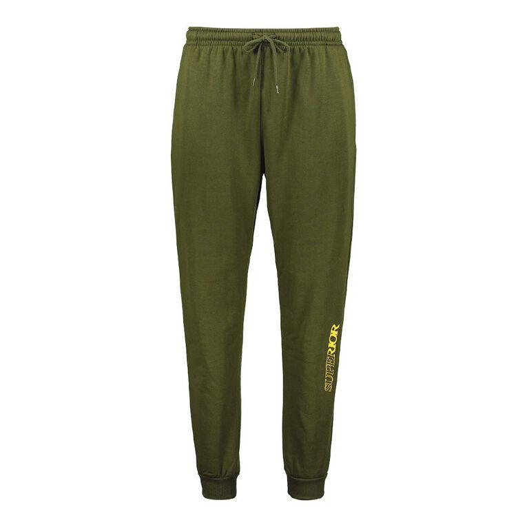 Garage Men's Fresh Trackpants, Green, hi-res